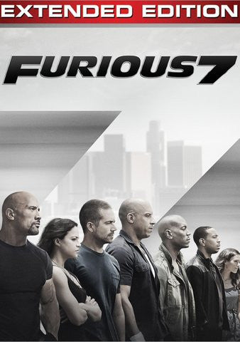 Furious 7 ( Extended Edition) HDX UV ONLY - Digital Movies