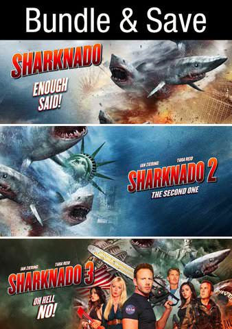 Sharknado 3 Film Collection HDX Vudu