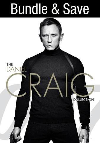 James Bond: The Daniel Craig Collection HDX VUDU (IW)