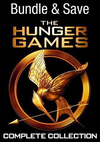 The Hunger Games: Complete 4-Film Collection HDX VUDU (IW)