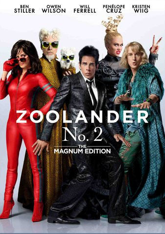 Zoolander No. 2: The Magnum Edition HDX UV - Digital Movies