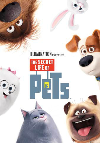 Secret Life of Pets HD iTunes - Digital Movies