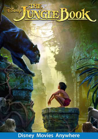 Jungle Book (2016) HDX Vudu, DMA, iTunes, or Google Play - Digital Movies