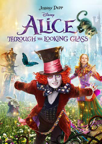 Alice Through the Looking Glass HDX Vudu, DMA, iTunes, or Google Play - Digital Movies