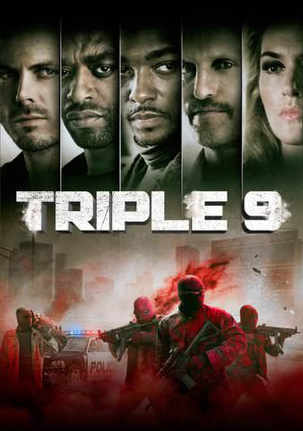 Triple 9 HDX UV - Digital Movies