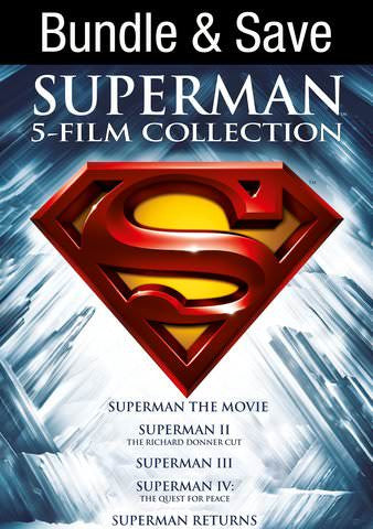 Superman 5 Film Collection SD UV/Vudu - Digital Movies