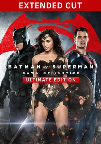 Batman vs Superman: Dawn of Justice Ultimate Edition (Theactical & Extended) 4K UHD UV