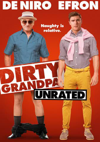 Dirty Grandpa (Unrated) HDX UV - Digital Movies