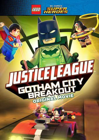 Lego DC Comics Super Heroes: Justice League: Gotham City Breakout HDX UV