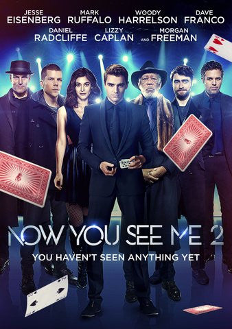 Now You See Me 2 HDX UV - Digital Movies
