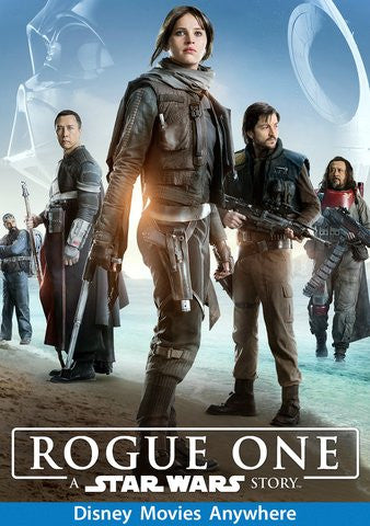 Rogue One: A Star Wars Story HDX Vudu, DMA, iTunes, or Google Play