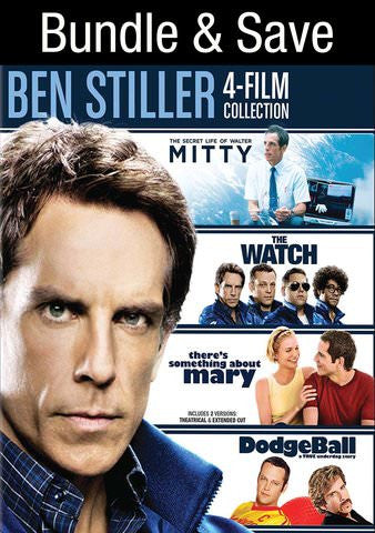 Ben Stiller 4 Movie Collection SD UV/Vudu