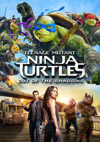Teenage Mutant Ninja Turtles: Out Of The Shadows HDX UV - Digital Movies