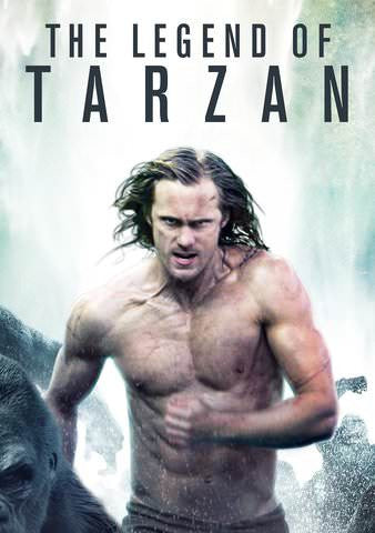 Legend of Tarzan HDX UV or iTunes via MA