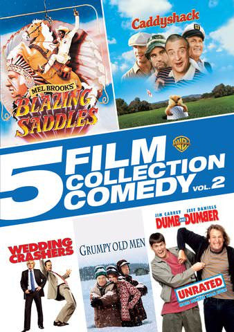 5 Film Classic Comedy Collection Vol 2 SD UV