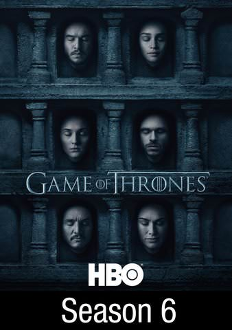 Game Of Thrones Season 6 HDX UV, HD iTunes, & Google Play (Full Code!)
