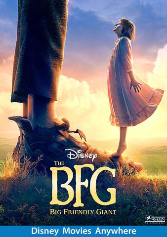 The BFG HDX Vudu, DMA, iTunes, or Google Play - Digital Movies
