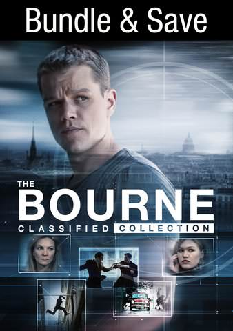 Jason Bourne 1-5 HDX VUDU IW (Will Transfer to MA & iTunes)