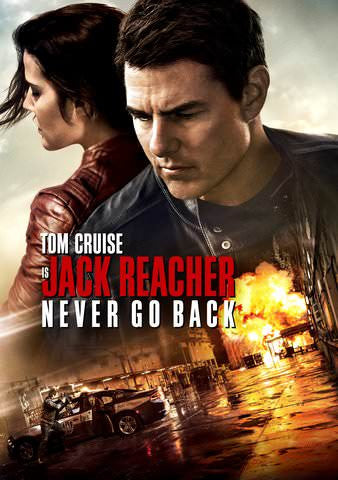 Jack Reacher Never Go Back HDX UV