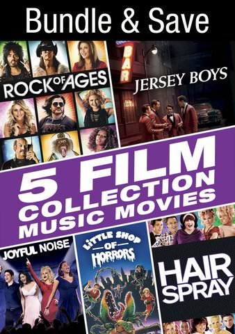 5 Film Collection: Music Movies SD UV