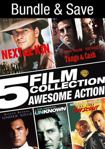 5 Film Collection: Awesome Action SD VUDU or iTunes via MA