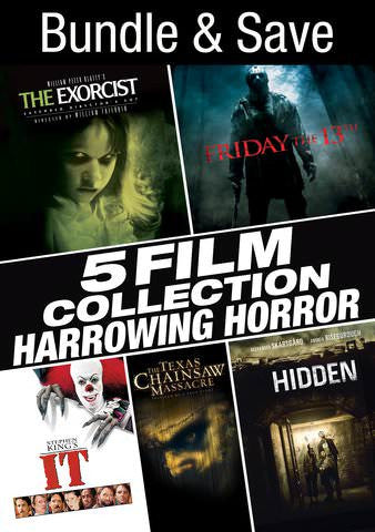5 Film Collection: Harrowing Horror Collection SD UV