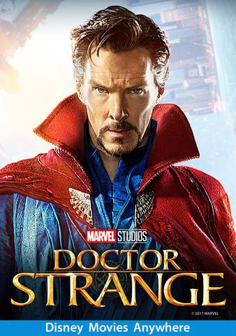 Doctor Strange HDX Vudu, DMA, iTunes, or Google Play