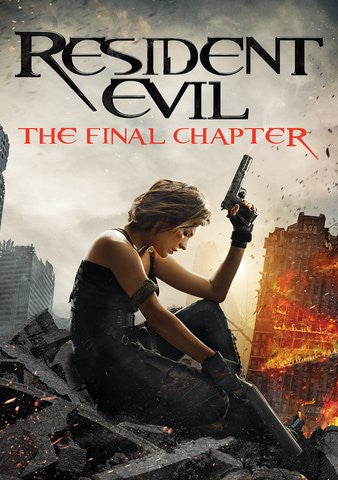 Resident Evil: The Final Chapter HDX UV
