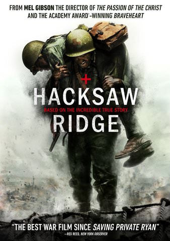 Hacksaw Ridge HDX UV