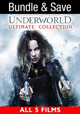 Underworld 1-5 Movie Bundle HDX VUDU IW (Will Transfer to MA & iTunes)