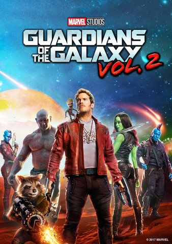 Guardians Of The Galaxy Vol. 2 HDX Vudu, DMA, iTunes, or Google Play