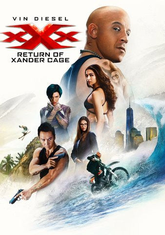 xXx: Return Of Xander Cage HDX UV & 4K iTunes (Full Code)