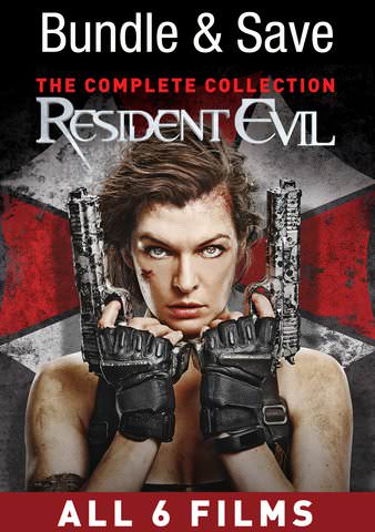 Resident Evil Complete Collection HDX VUDU IW (Will Transfer to MA & iTunes)