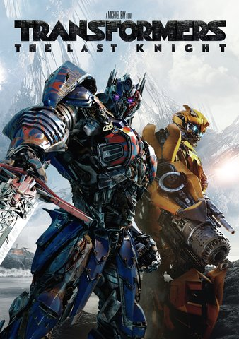 Transformers: The Last Knight HDX UV & HD iTunes (Full Code!)