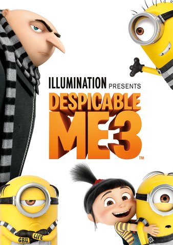 Despicable Me 3 4K or HD iTunes