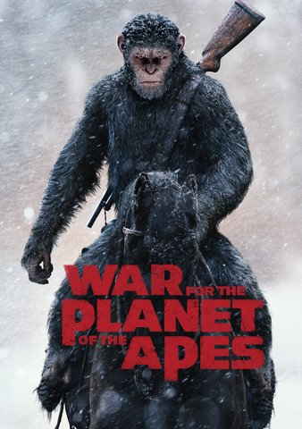 War For The Planet Of The Apes HDX VUDU or 4K iTunes