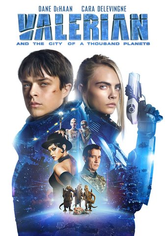 Valerian And The City Of A Thousand Planets HDX UV