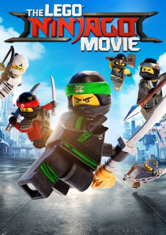 Lego Ninjago Movie HDX VUDU or iTunes via MA