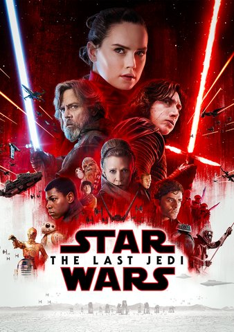 Star Wars: The Last Jedi HDX Vudu, MA, iTunes, or Google Play