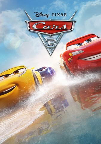 Cars 3 HDX Vudu, MA, iTunes, or Google Play