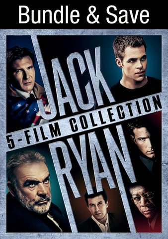 Jack Ryan 5-Movie Collection SD (IW)