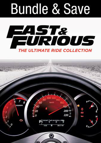 Fast and Furious 1-8  IW (Will Transfer to MA & iTunes)