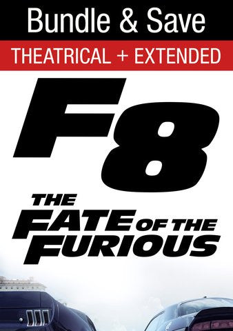 Fate Of The Furious Theatrical/Extended Bundle HD iTunes