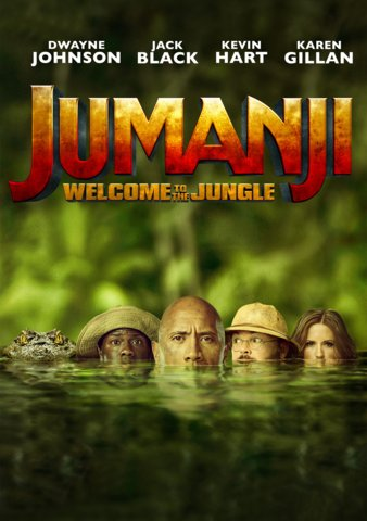 Jumanji: Welcome To The Jungle SD UV or iTunes via MA