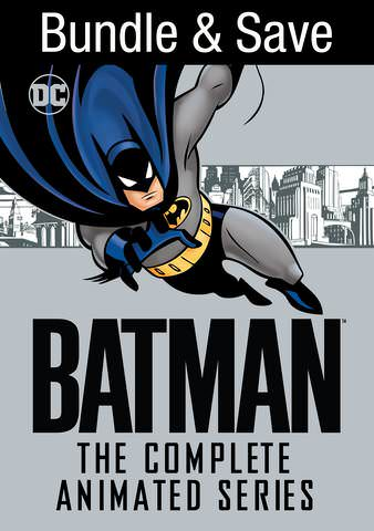 Batman: The Complete Animated Series HDX VUDU (PLUS Batman & Mr. Freeze: Subzero &  Batman: Mask of the Phantasm)