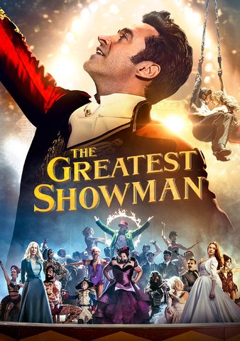 The Greatest Showman HDX Vudu or iTunes via MA