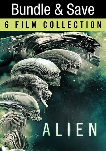Alien 6-Film Collection HDX VUDU IW (Will Transfer to MA & iTunes)