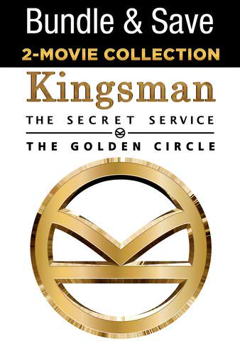 Kingsman 2 Movie Collection HDX VUDU IW (Will Transfer to MA & iTunes)