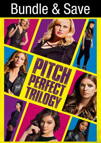 Pitch Perfect 3-Movie Collection HDX VUDU IW (Will Transfer to MA & iTunes)