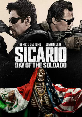 Sicario: Day Of The Soldado HDX VUDU or iTunes via MA